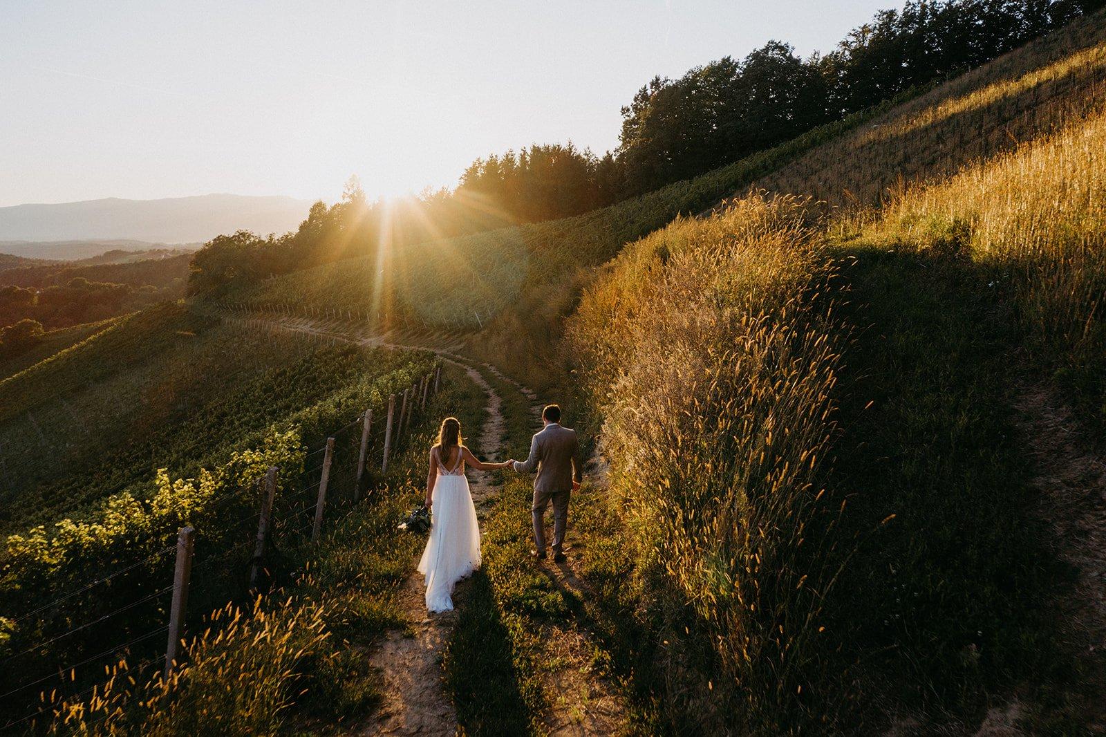 Hochzeitsfotograf LandshutWeingut Harkamp, Steiermark